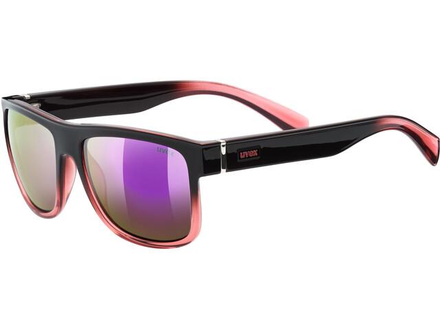 UVEX LGL 21 Cykelglasögon pink/svart